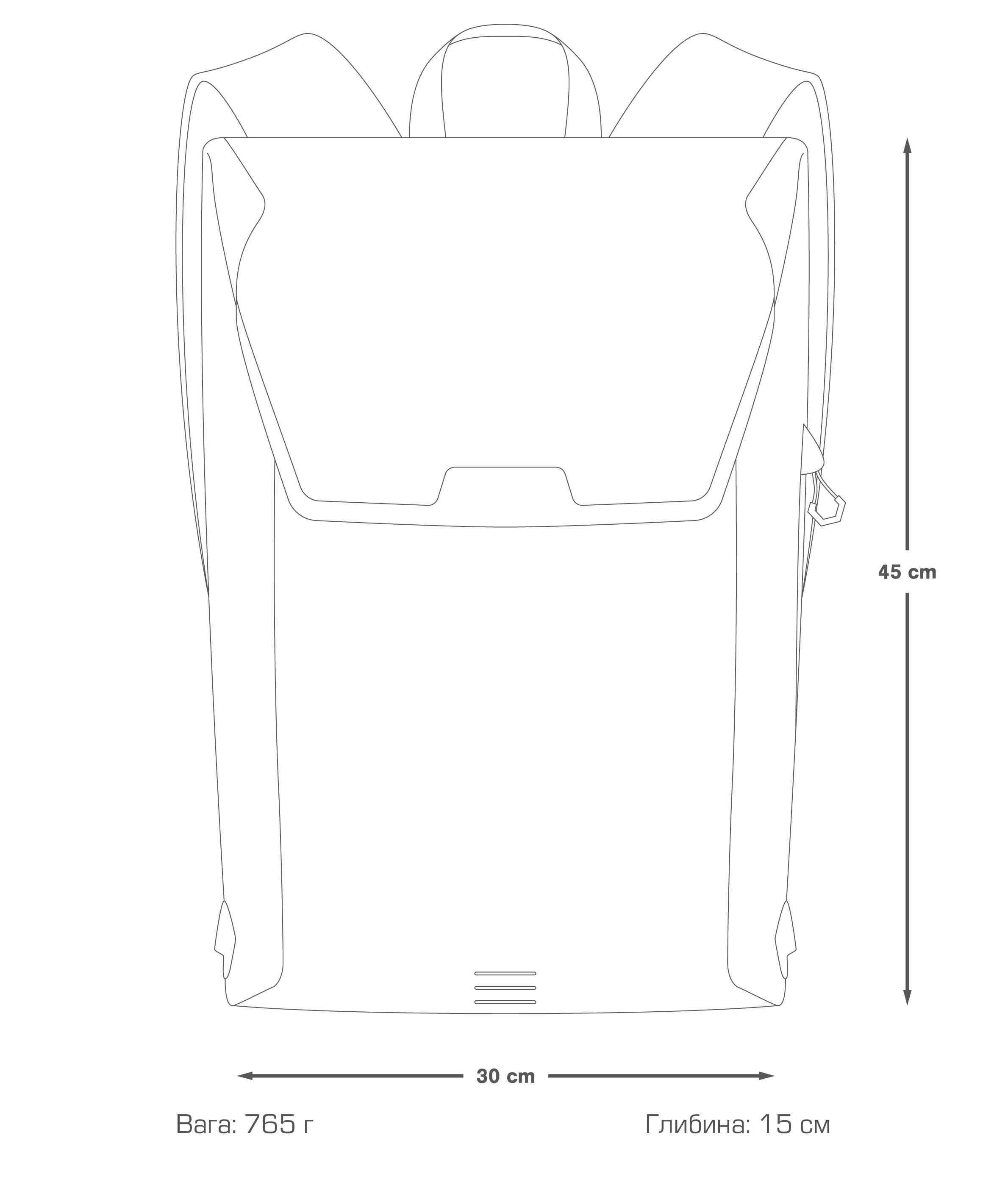 сity backpack 17L